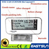 Professional customed electronic price display retail Store shelf labels