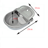 stainless steel horse water trough