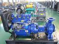 open frame fabricante confiável diesel bomba de água para irrigação set