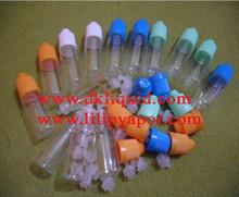 various volume e liquid bottles
