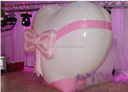 inflatable love heart blasting ball