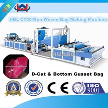 high speed The newest Manufacturer polypropylene non-woven bag making machine
