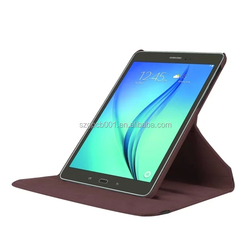 Quality Lychee PU Leather Case with flip Stand For GALAXY Tab s2 9.7 T810 T815C 360 ROTATABLE STAND FLIP LEATHER CASE POUCH
