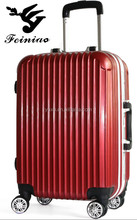 2015 new style PC frosted aluminum frame carry on luggage /trolley luggage/suitcase
