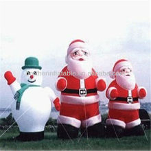 Christmas Blown up Santa Cartoon