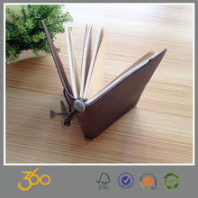 2015 gifts genuine leather notebook making machine ,paper notebook