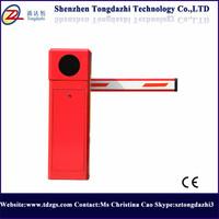 Intelligent parking lot aluminum barrier arm gate with parking ticket dispenser box