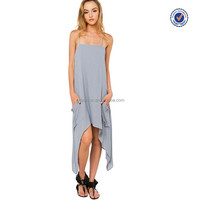 Promise you low price new style sliver casual dress for girls 2016 Guangdong clothing
