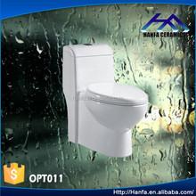 water saving one piece toilet closet sanitary