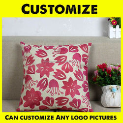 Cotton Linen Custom Mr and Mrs Right Throw Pillow Case Cushion Cover Home Decorative 18 X 18 Inch