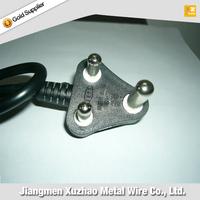 AC Power Cord Type 3 Pin Plug Top