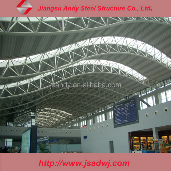 Prefabricated galvanized steel roof trusses for sale buy for Prefabricated truss