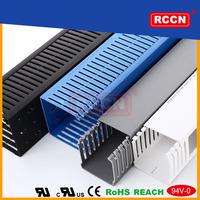 Guaranteed Quality Rccn PVC cable trunking/ Plastic cable trunking/pvc cable trunking size
