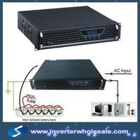rack-mounted 3KW 48VDC to 110V/220VAC pure sine wave solar power inverter,utility , telecom inverter