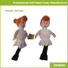 2015 New Designed Golf Head Cover In Cute Cartoon Style For Children
