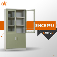 Good quality metal filing cabinet in office furniture for books or files stock