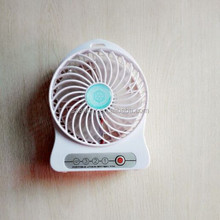 Mini battery travel fan with three Gear Adjustment with USB