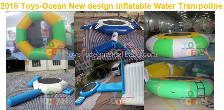 2016 populaire 6 personne gonflable d 39 eau le flottante gonflable flottan - Ile flottante gonflable ...