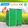 Beautiful economic steel garden shed with wind proof