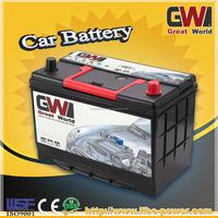 N90LMF 12v 90ah/105D31R mf car battery