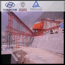 Construction widely used circular vibrating screen