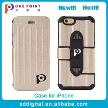 Best selling high quality pu leather multifunction 4.7 inch phone case for iphone