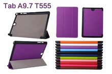 2015 New Promotion Smart Cover For Samsung Tab T550,Slim Case For Samsung Tab 9.7inch T550