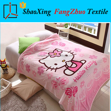 high quality best price Hello Kitty children blanket mink cashmere blanket
