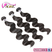 XBL Excellent Quality Hot Sale 8A Grade Chemical Free 12 inch Indian Hair Weave