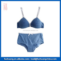 Beautiful Comfortable Underwear Set Girls jersey Bra & Brief Sets 018