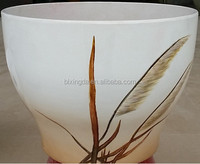 eco-friendly Bamboo fiber European Special butterfly orchid flower POTS