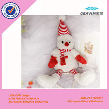 Christmas Snowman Elk Pet Plush Toy Chew Toy Stuffed Dog Toys Wholesale Pets And Dogs Dolls Accessories