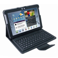 10.1 inch Galaxy tab wireless keyboard case for samsung P5100