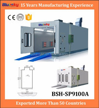China supplier auto oven/painting drying booth/auto spray booth