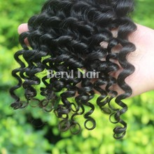 100% cheap remy hair extension weft Indian curly wholesale