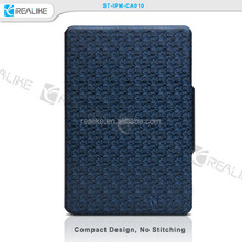 OEM manufacture wholesale price belt clip stand PU leather for ipad mini 3 wallet case