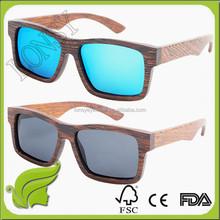 Name brand Multi colored moso bamboo sunglasses wenge wood eyewear LS3021
