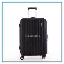 abs printed hard shell trolley luggages