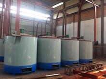 Large Valid Volum Biomass Briquette Carbonization Oven