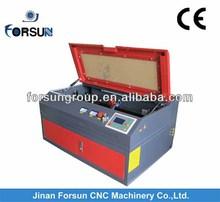 Jinan high quality rubber sheet laser cutting machine FSL5030