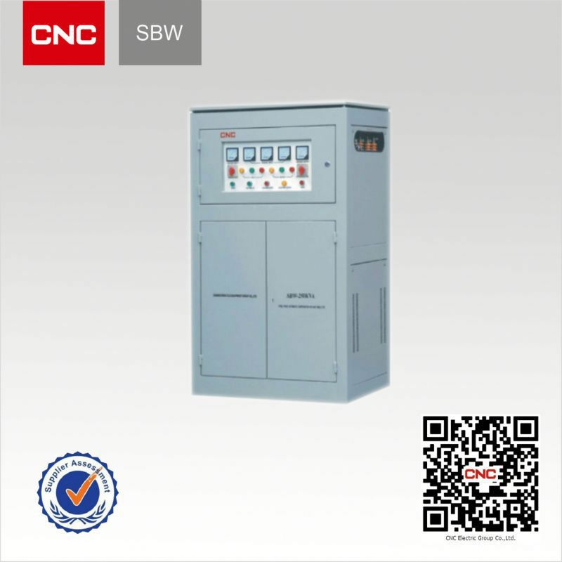 Sbw Single Three Phase Voltage And Frequency Stabilizer