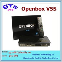 2015 Newest original Openbox V5S HD pvr satellite tv receiver with wifi adapter free iks Youtube Youpron IPTV