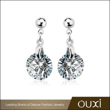 20896 OUXI new arrivals single stone beautiful stud earring jewelry