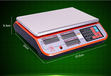 hot selling digital food electronic weighing scale in home and abroad
