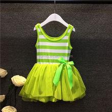 Wholesale manufacturers New fashion summer children's clothing girls candy color vest dress children dress