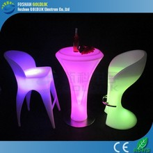 Rechargeable LED Bistro Table with 16 colors