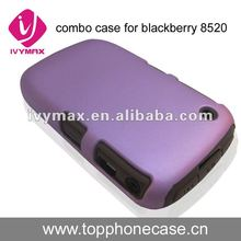 for Blackberry 8520 HARD/SILICONE Combo Case Cover