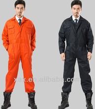 la costumbre china de algodón de una pieza de traje de color naranja para los hombres