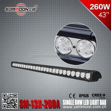 260W head driving light ONE ROW 10W/LED head light BAR LIGHT COMBO FOR SUV ATV 4X4 TRUCK MACHINE POLICE PLANE