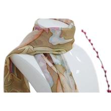 2015 new lady fashion printed 100 silk scarves wholesale pashmina shawl